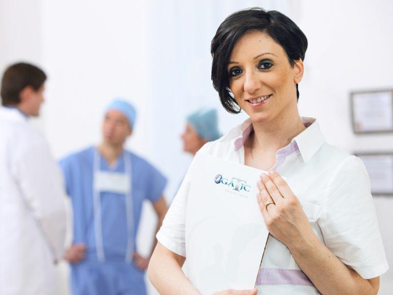 Dott.sa Rosamaria Tedesco - Resp. laboratorio di embriologia