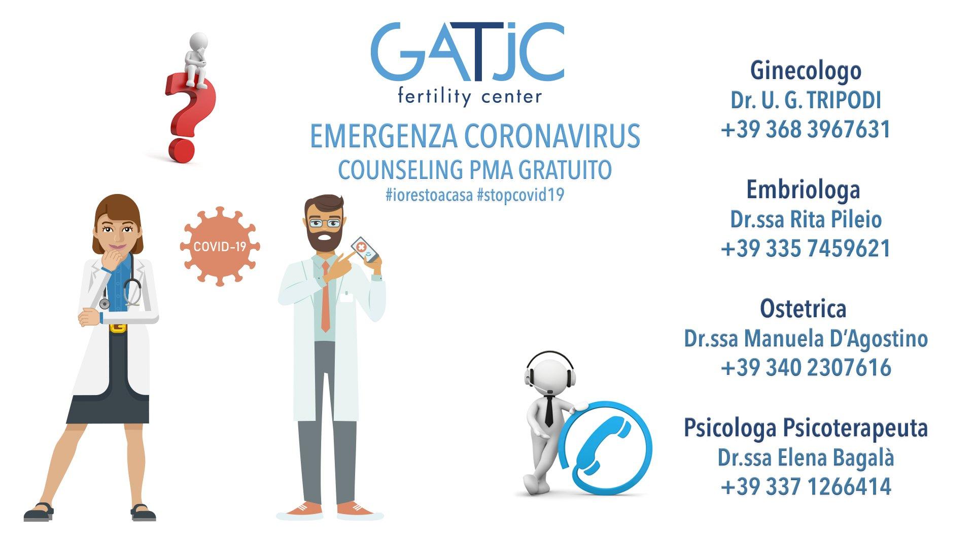 coronavirus e PMA